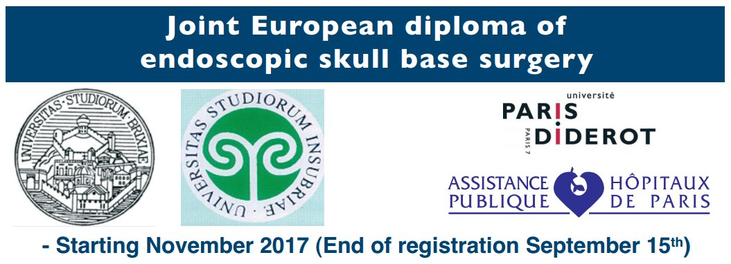 Endoscopic Skull Base Surgery 2017